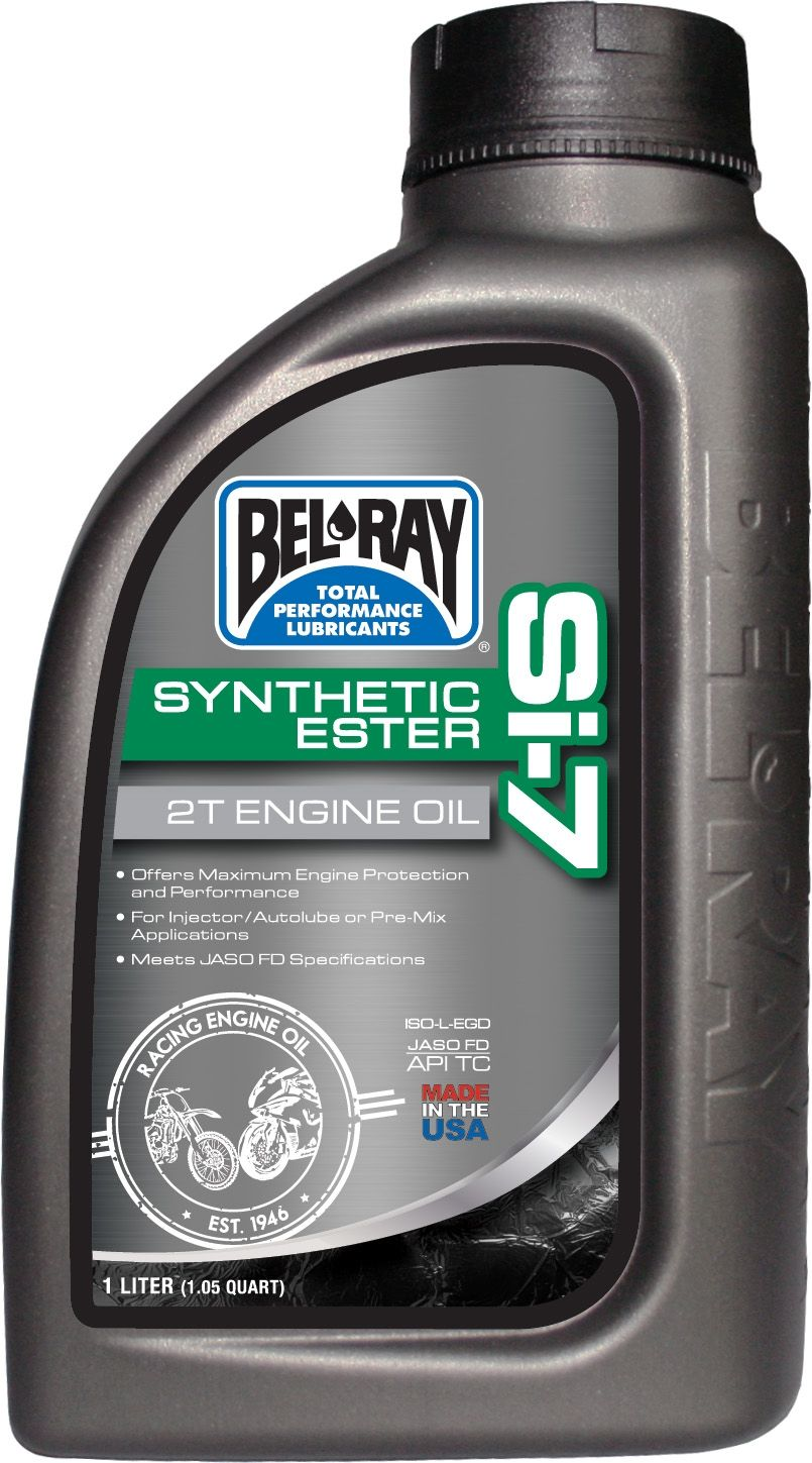 aceite bel ray SI-7 SYNTHETIC 2T ENGINE OIL