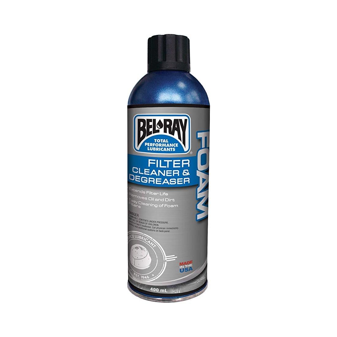 aceite bel ray foam filter oil SPRAY x400ml