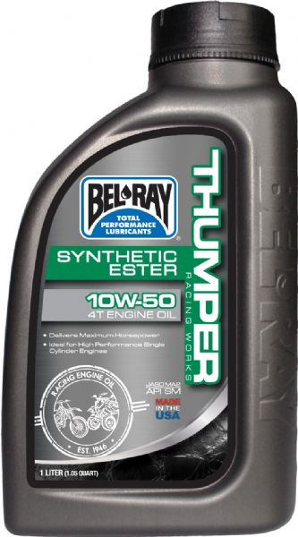 aceite bel ray WORKS THUMPER RACING FULL SYNTHETIC 10W50
