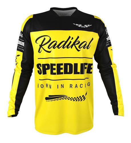 remera mx radikal concept 2020 flag amarillo talle L