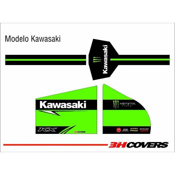 cobertores moto 3h kawasaki