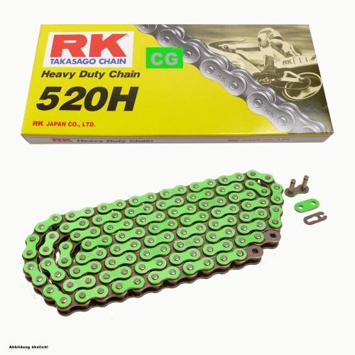 cadena transmision rk 520 x 120 h green