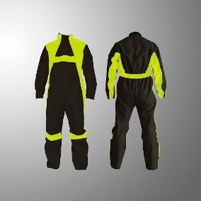 traje de lluvia mono enterizo givi lluvia cordoba negro/amarillo talle xxl
