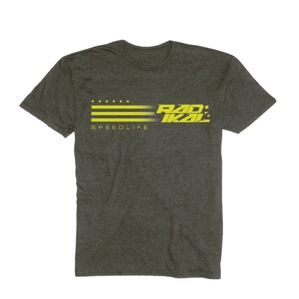 remera casual radikal faster talle S