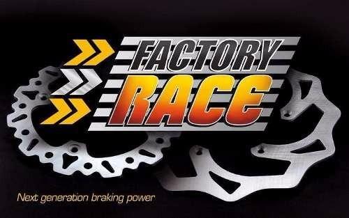 disco freno trasero kawasaki kdx klx factory race