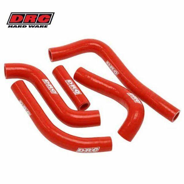 kit mangueras radiador DRC honda crf 250 16/17 rojo