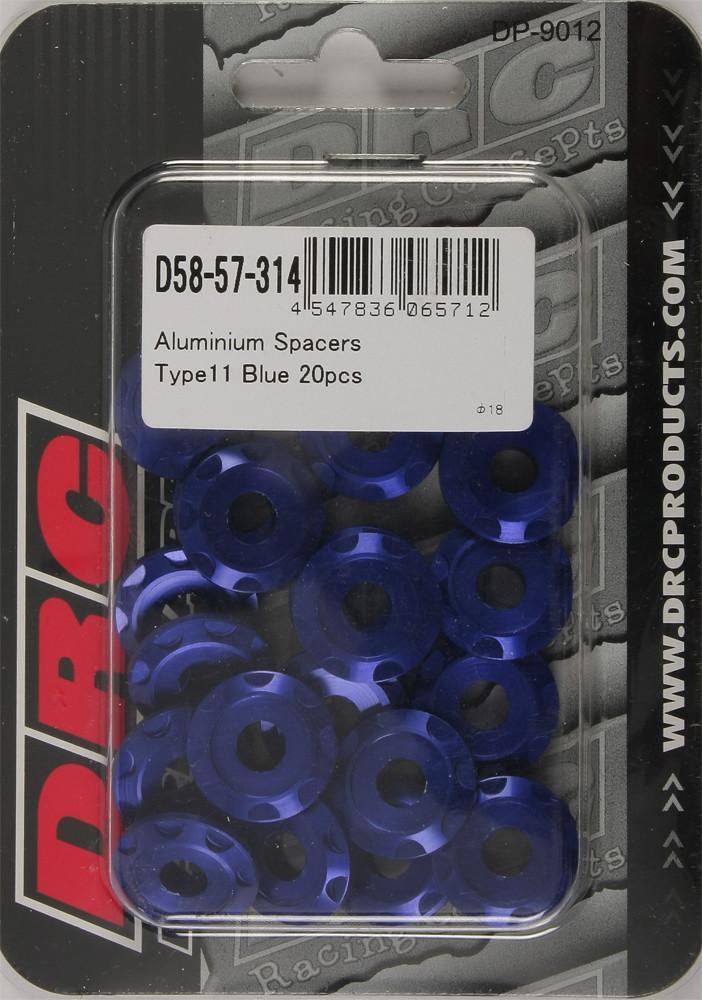 arandela drc alum m6 azul