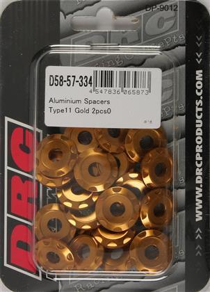 arandela DRC alum m6 tipo 11 gold