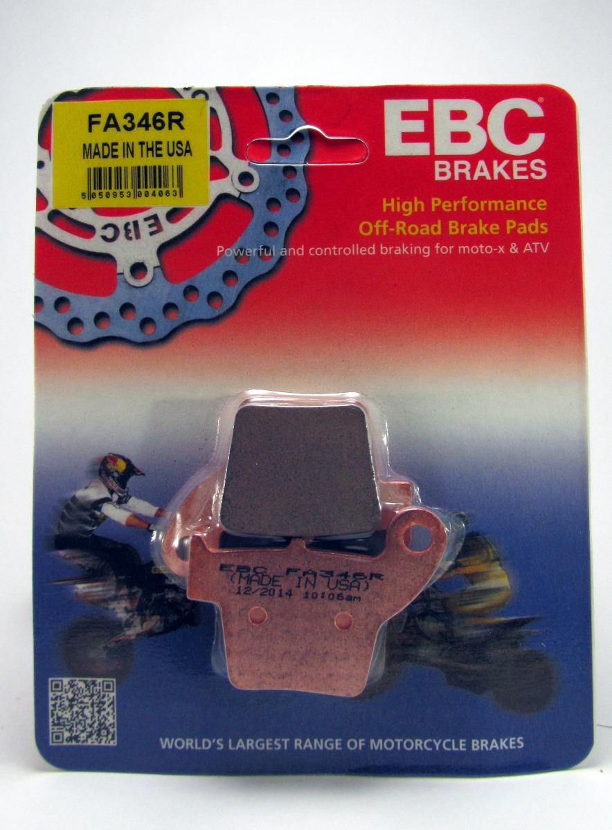 pastilla freno ebc FA346R dorada