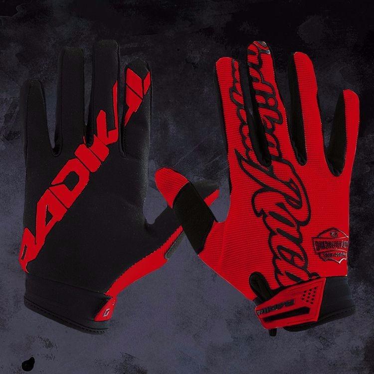 guante radikal mx rojo XS