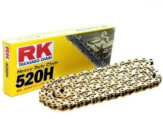 cadena transmision rk 520 x 120 h brass gold