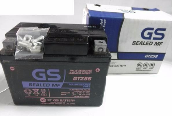 bateria GS gtz5s