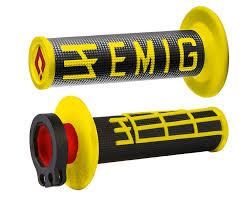 puños odi emig negro/amarillo lock on (4t)