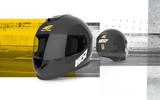 casco h57 negro talle l (60cm)