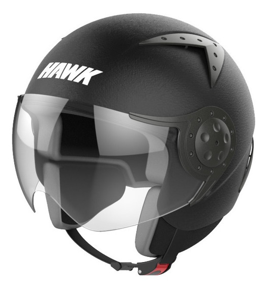 casco hawk thick rs9 full negro talle S