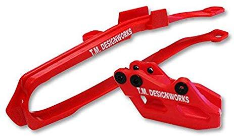 kit guia + desliza cadena TM honda crf 250 450 14/17 GP rojo