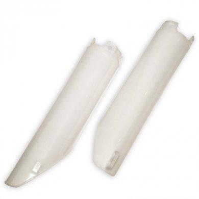 cubre barrales honda cr 125-250-500 91/97 blanco ufo