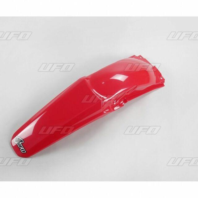 guardabarro trasero honda crf 250 04/05 rojo new ufo