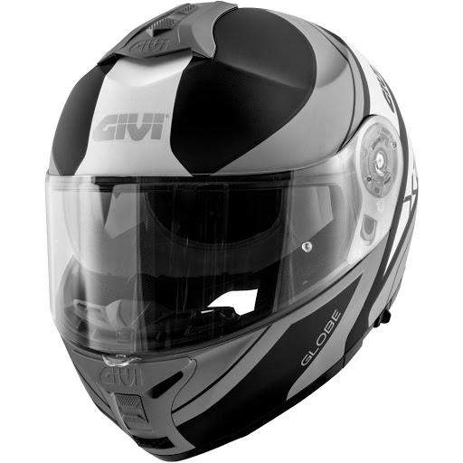 casco givi x21 challenger globe negro/gris talle l
