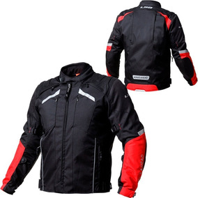 campera LS2 serra black red hombre talle talle XXL