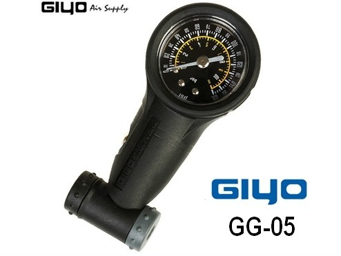medidor de presión gi-yo apto válvula francesa y auto (160psi)