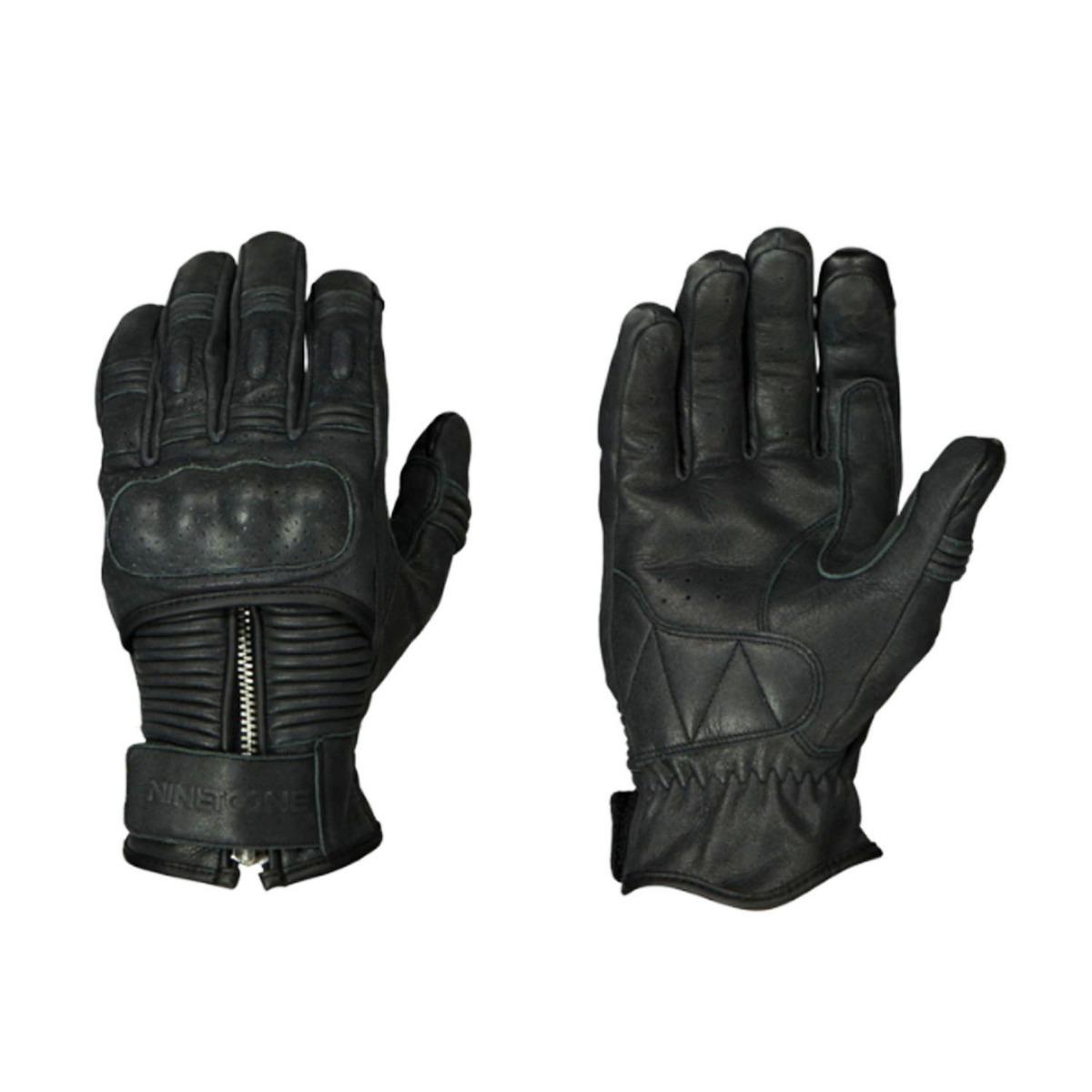 guante nineTOone by ls2 zip negro talle l
