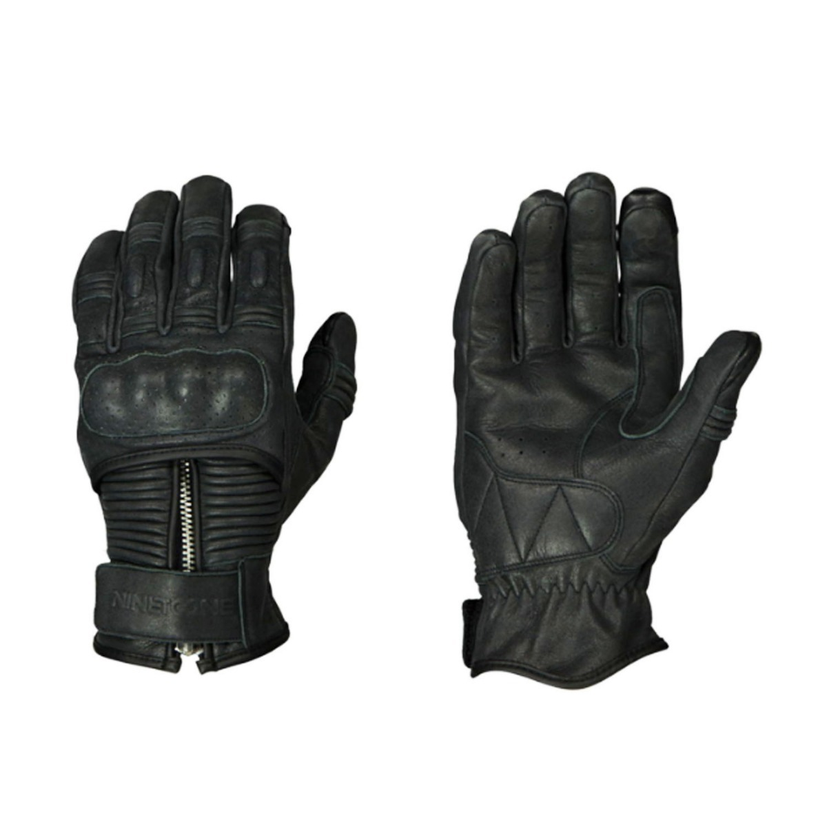 guante nineTOone by ls2 zip negro talle xl