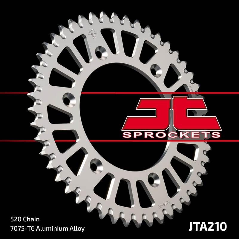 corona jt honda cr/crf/xr 47 dientes aluminio