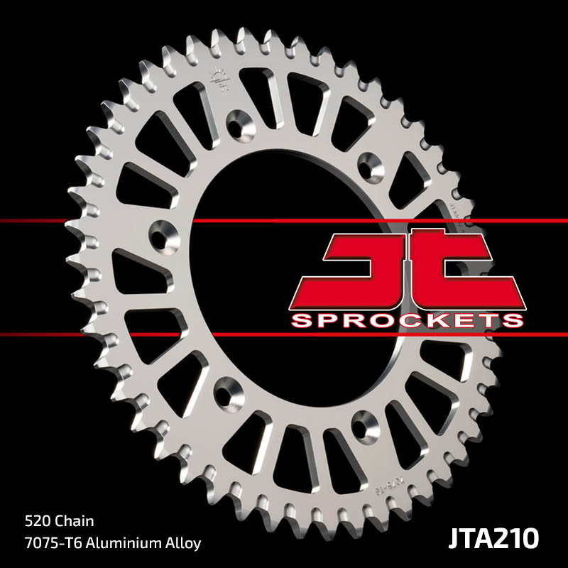 corona jt honda cr/crf/xr 50 dientes aluminio