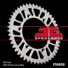 corona jt suzuki rm/dr 2/350r 90/99 drz 400 00/04 48 dientes aluminio