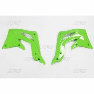 aletas tanque kawasaki kxf 450 12-15 verde ufo
