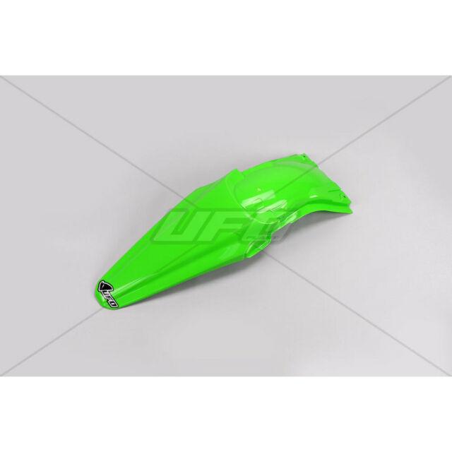 guardabarro trasero kawasaki kxf 250 13/16 kxf 450 12-15 verde ufo