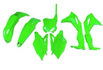 kit plasticos kxf 250 2017 verde fluo ufo