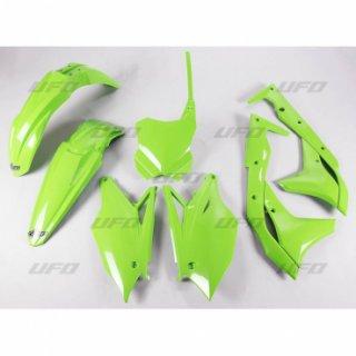 kit plasticos kxf 250 2017 verde ufo