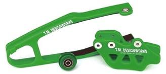 kit guia + desliza cadena TM kawasaki kxf 09/16 dirtcross verde
