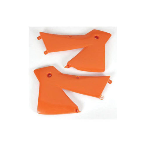 aletas tanque ktm sx-sxf 11-12 exc 12-13  naranja ufo
