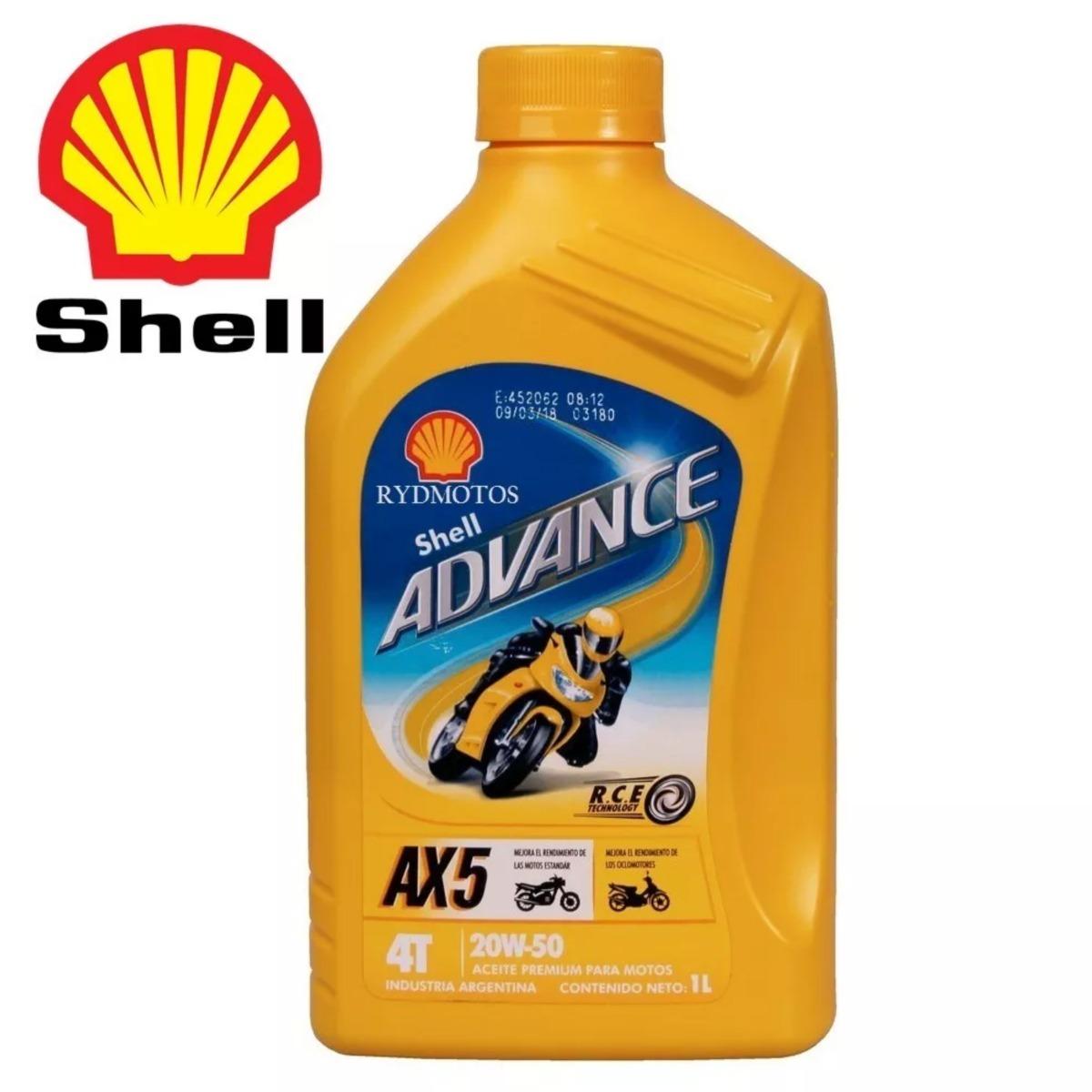 aceite shel advance ax5 4t 20w50