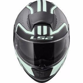 casco ls2 397 orion matt black talle xl (61-62cm)
