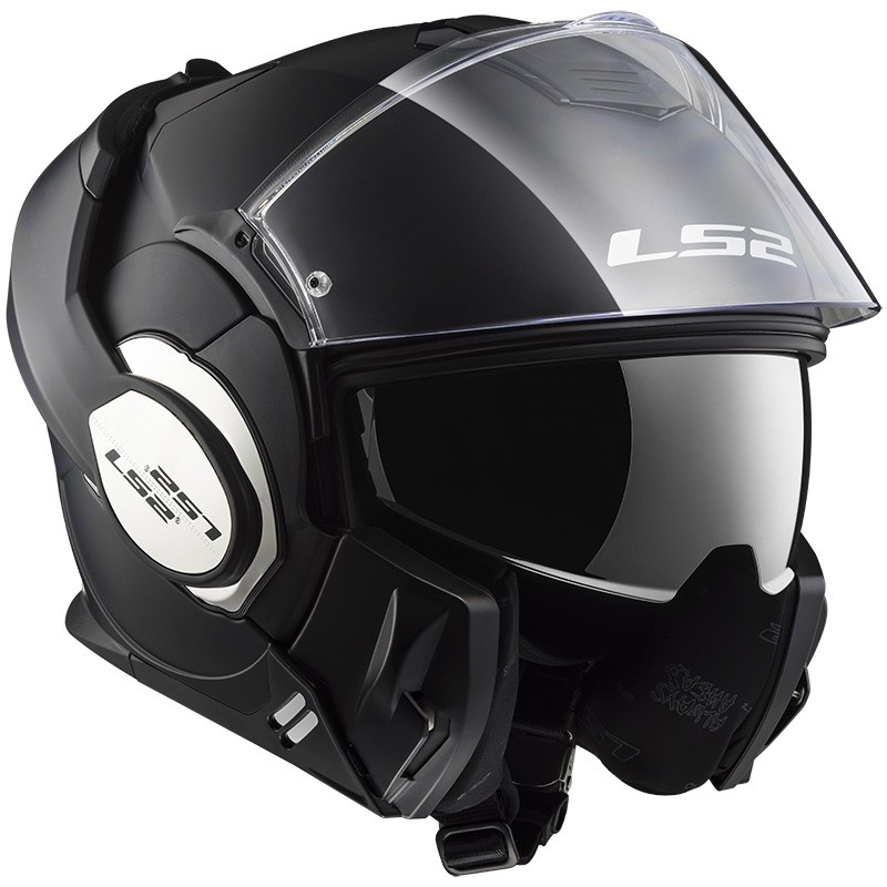 casco ls2 399 valiant matt black talle xl (61-62cm)