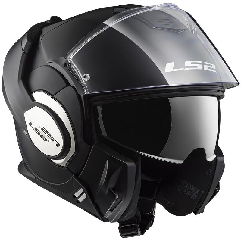 casco ls2 399 valiant matt black talle xxl(63-64cm)