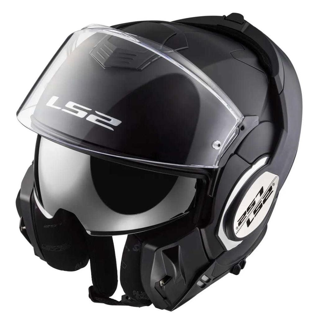 casco ls2 399 valiant matt black talle s (56cm)