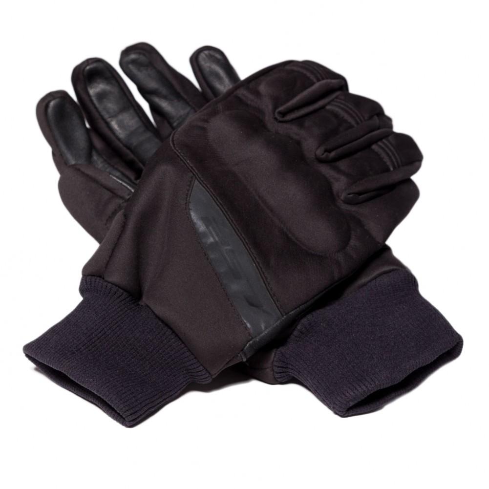 guante ls2 softshell negro corto talle S