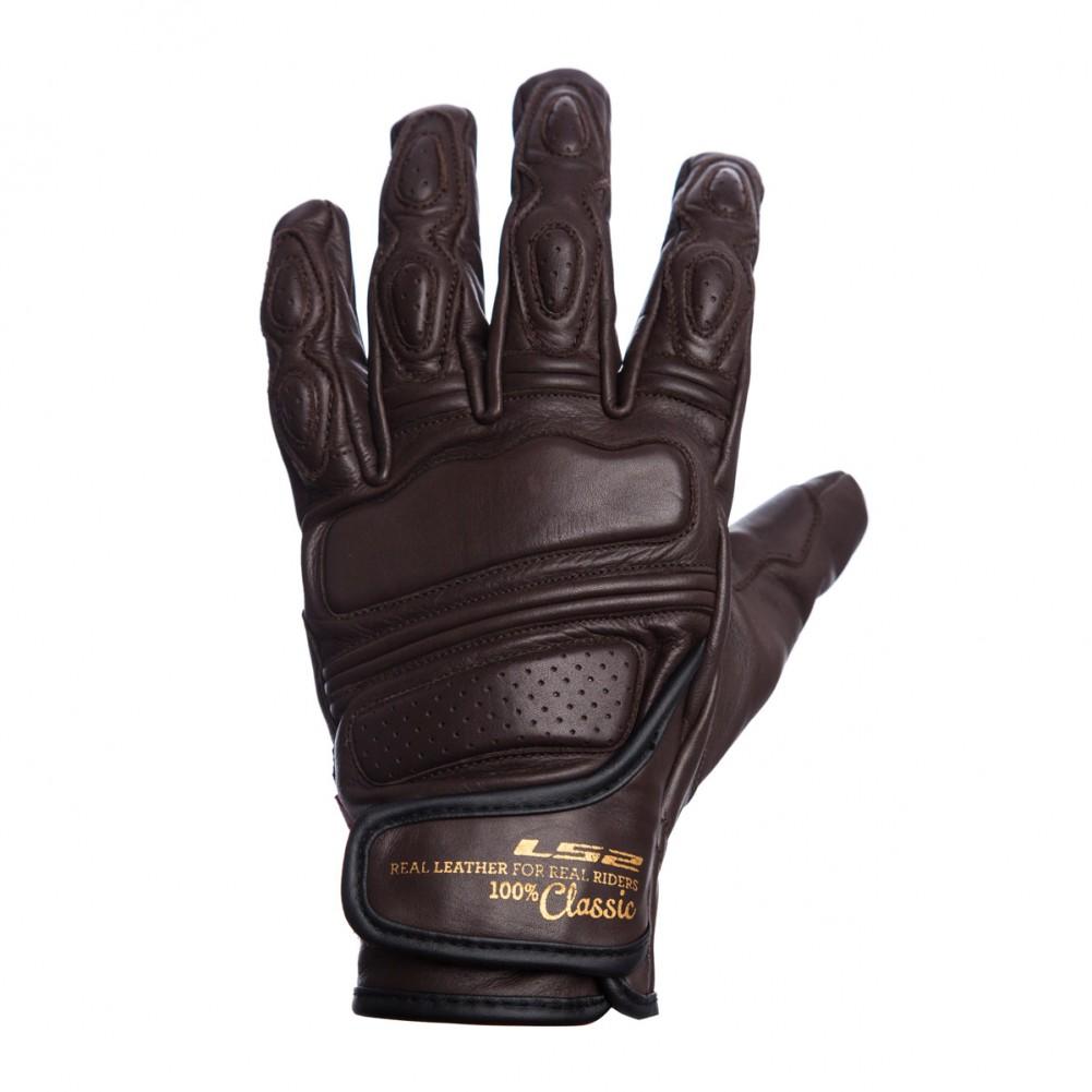 guante ls2 corto essential negro talle S