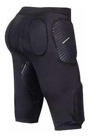 calza ls2 race con protecciones negra talle XL