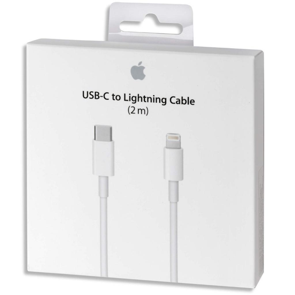 cable carga rapida apple usc-c 2m original