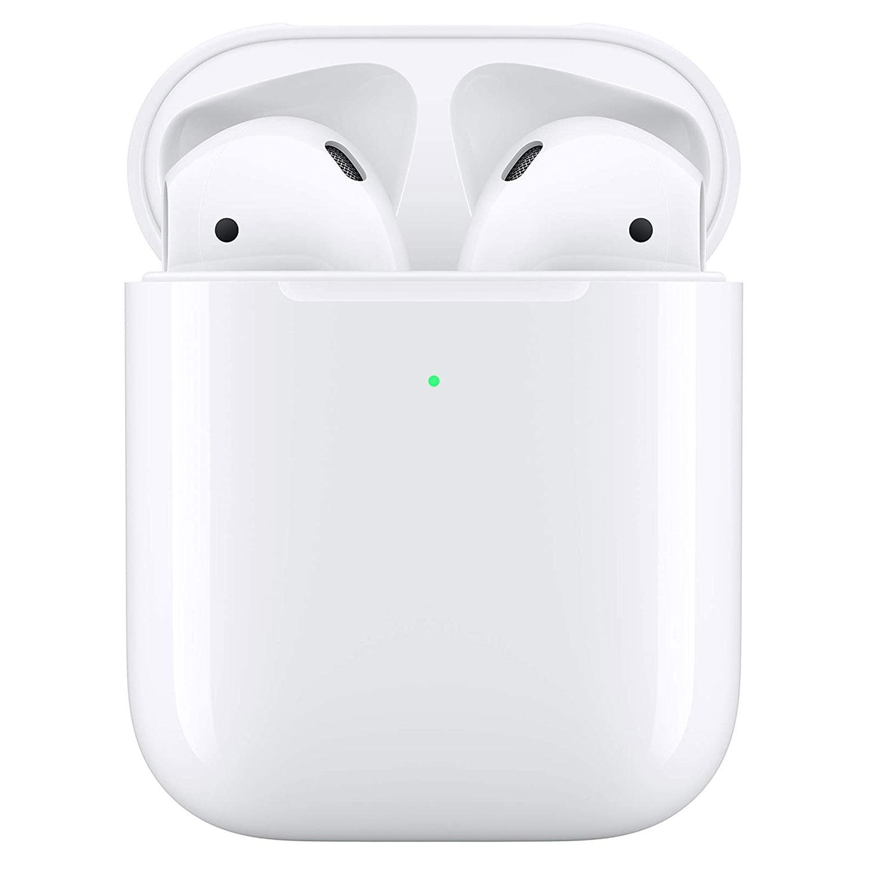 auriculares airpods 2da gen c/ carga wireless apple originales