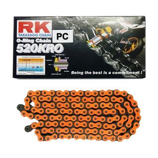 cadena transmision rk 520 x 118 c/oring orange