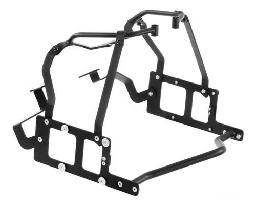 soporte lateral bmw f800 valijon aluminio roncar