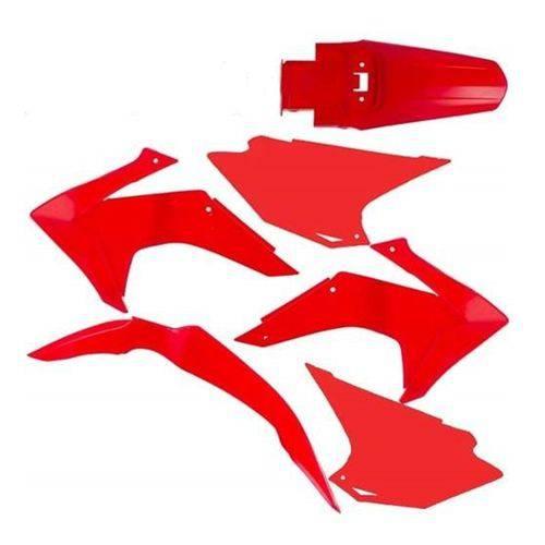 kit plasticos honda crf 230 pro tork rojo