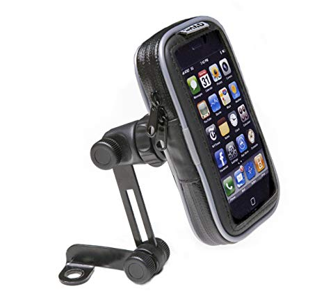 soporte celular 4,3 con soporte para espejo shad